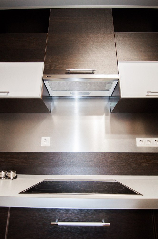 Встроенная кухня-Кухня из ЛДСП «Модель 151»-фото5