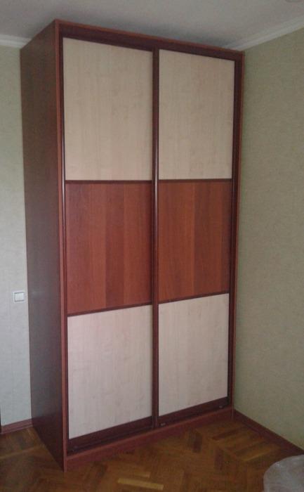 Встроенные шкафы-купе-Шкаф-купе из ЛДСП «Модель 175»-фото1