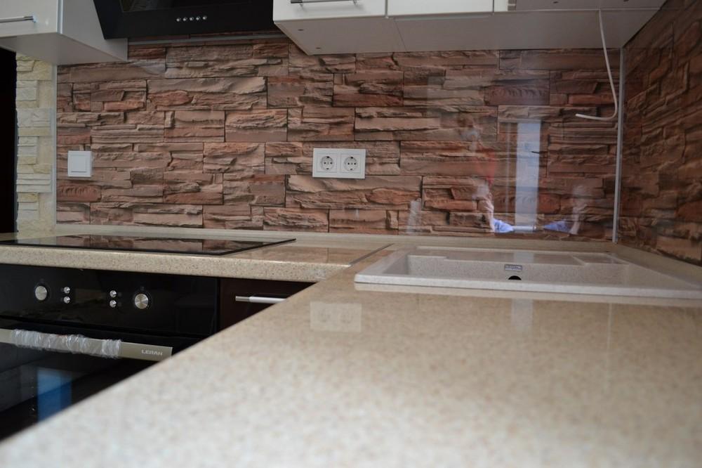 Белый кухонный гарнитур-Кухня МДФ в ПВХ «Модель 177»-фото4