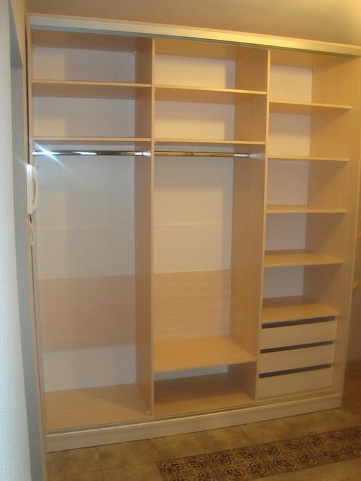 Белые шкафы-купе-Шкаф-купе с зеркалом «Модель 98»-фото2