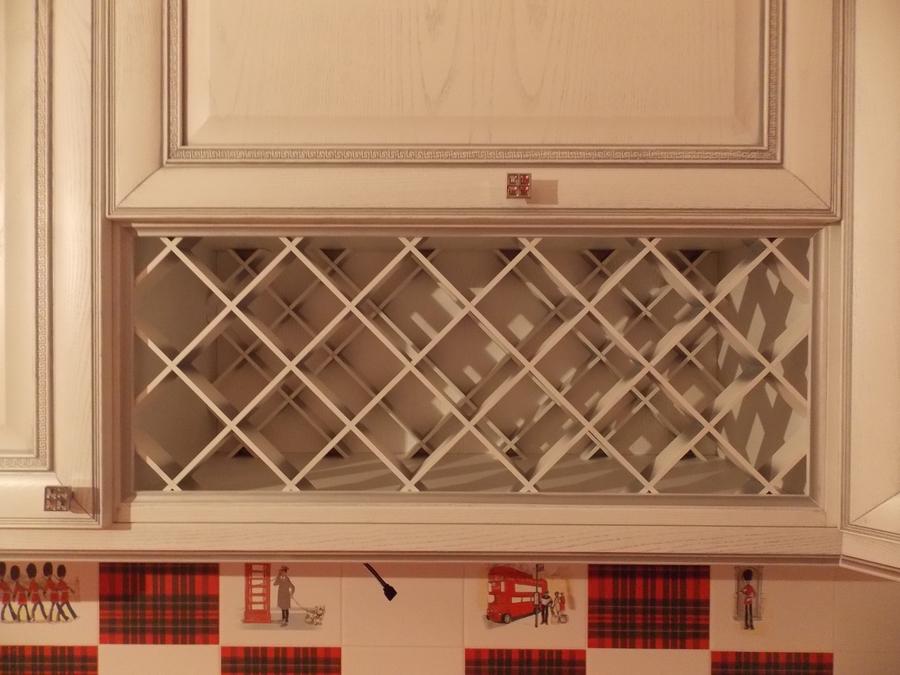 Белый кухонный гарнитур-Кухня из шпона «Модель 13»-фото6