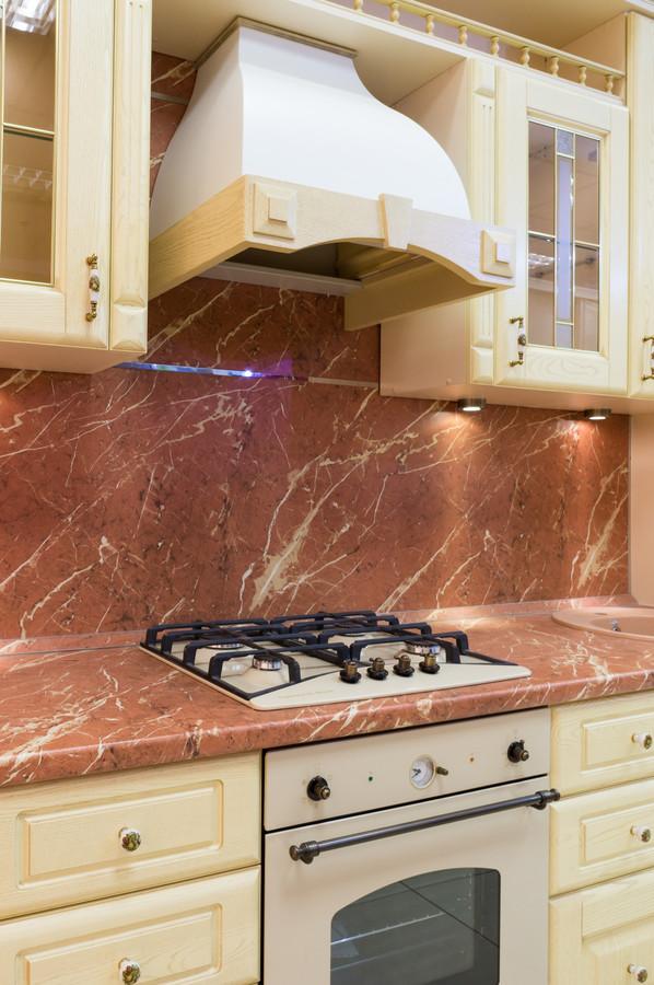Белый кухонный гарнитур-Кухня из массива «Модель 57»-фото5