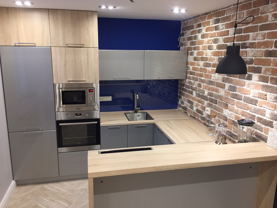 Купить кухню-Кухня МДФ в ПВХ «Модель 59»-фото1