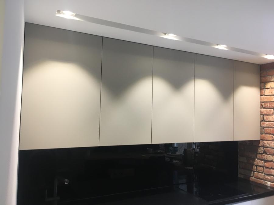 Белый кухонный гарнитур-Кухня МДФ в ПВХ «Модель 66»-фото6