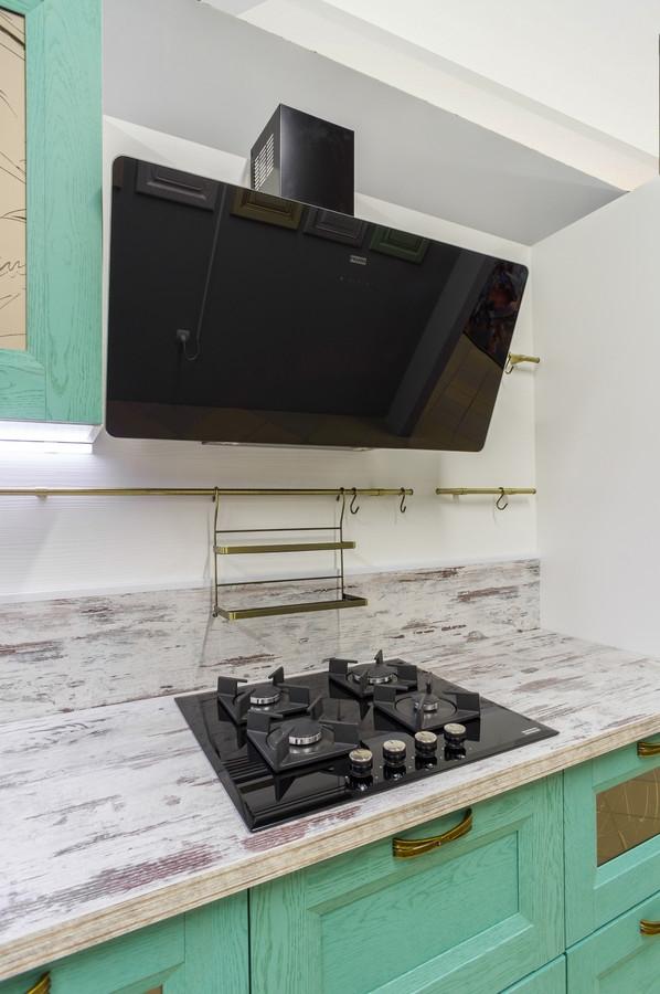 Встроенная кухня-Кухня из массива «Модель 46»-фото2