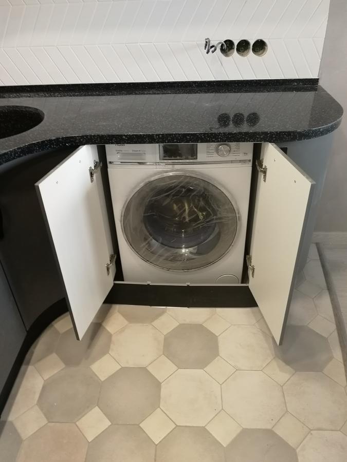 Белый кухонный гарнитур-Кухня МДФ в ПВХ «Модель 29»-фото7
