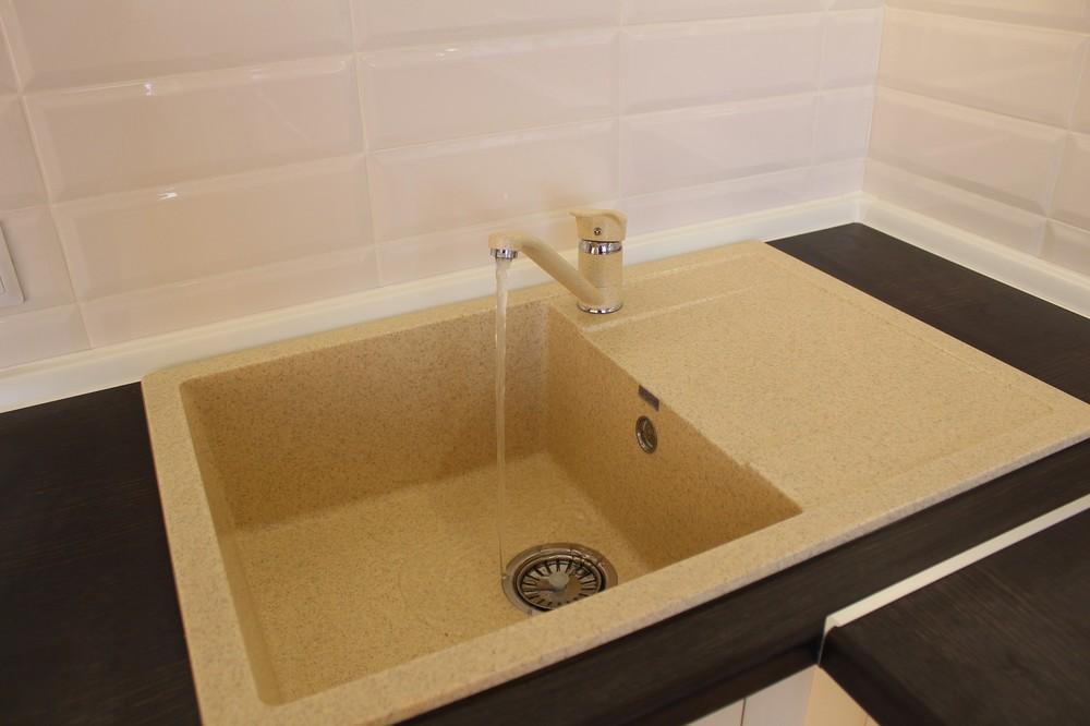 Акриловые кухни-Кухня МДФ в ПВХ «Модель 305»-фото6