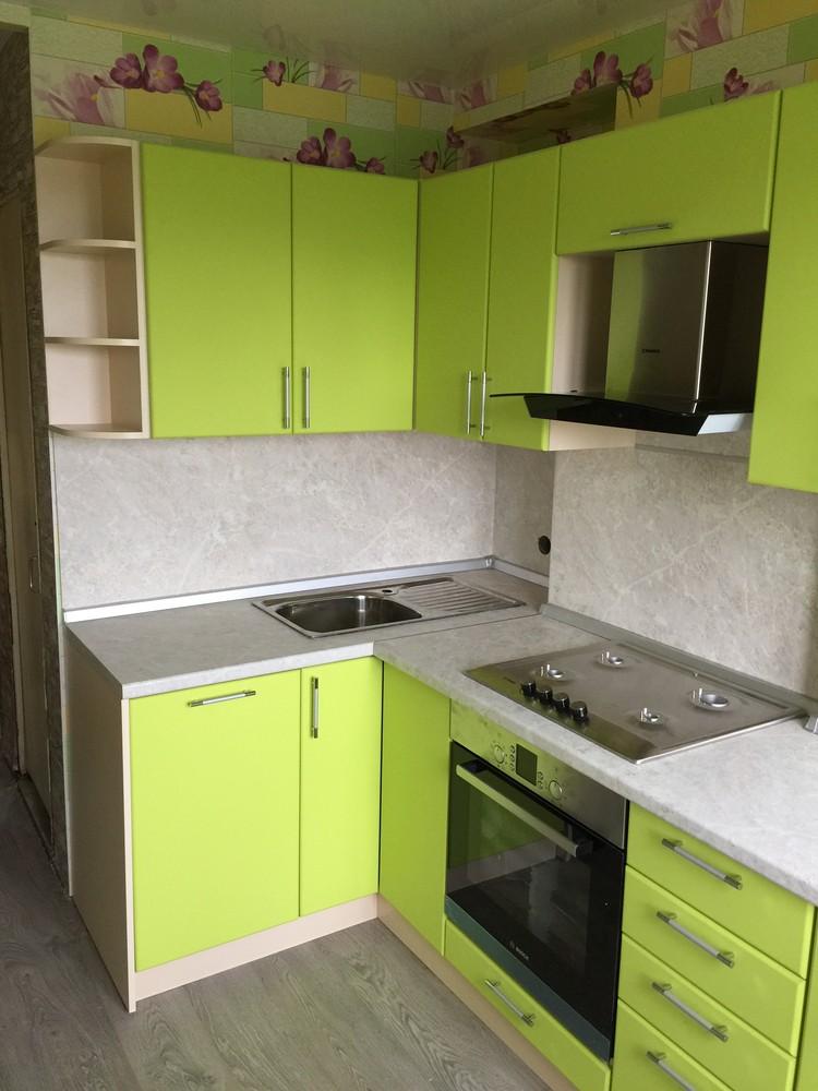 Встроенная кухня-Кухня МДФ в ПВХ «Модель 360»-фото2