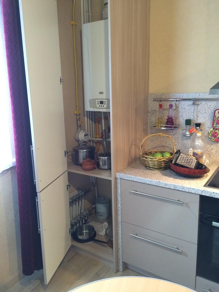 Акриловые кухни-Кухня из пластика «Модель 104»-фото5