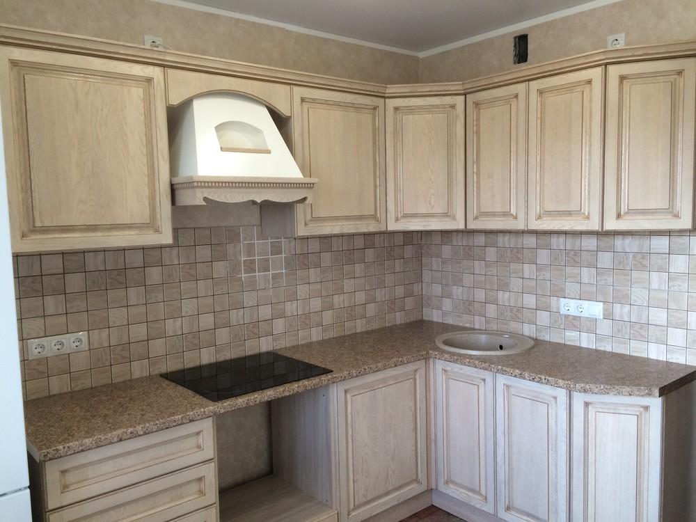 Белый кухонный гарнитур-Кухня МДФ в ПВХ «Модель 322»-фото4