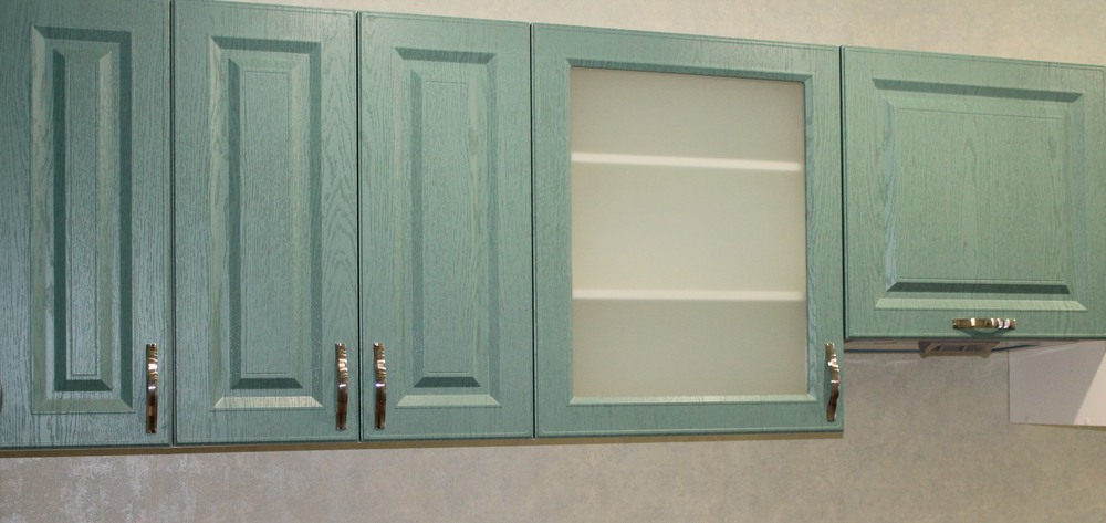 Классические кухни-Кухня МДФ в ПВХ «Модель 338»-фото5
