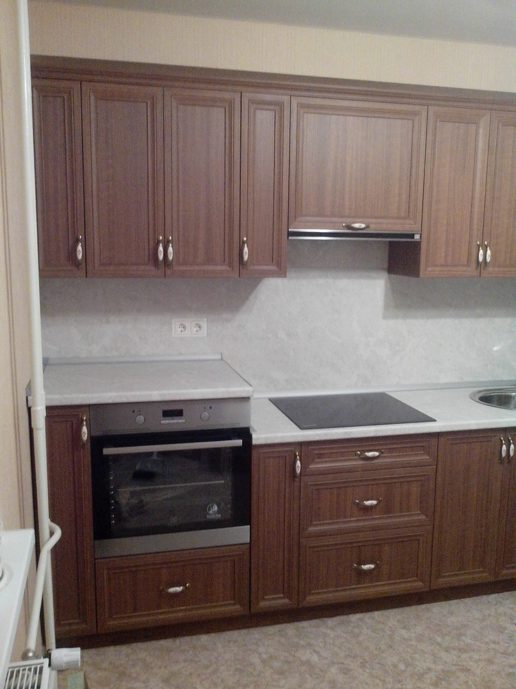 Классические кухни-Кухня из пластика «Модель 331»-фото4