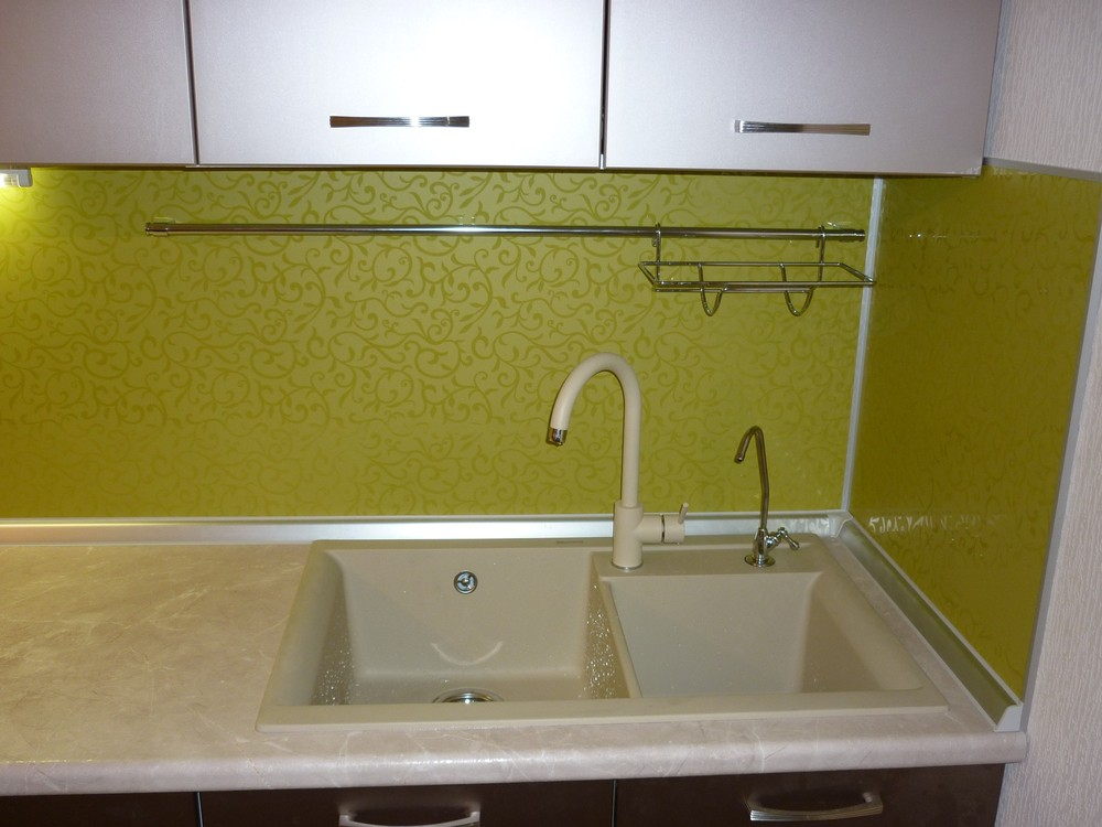 Встроенная кухня-Кухня МДФ в ПВХ «Модель 263»-фото2