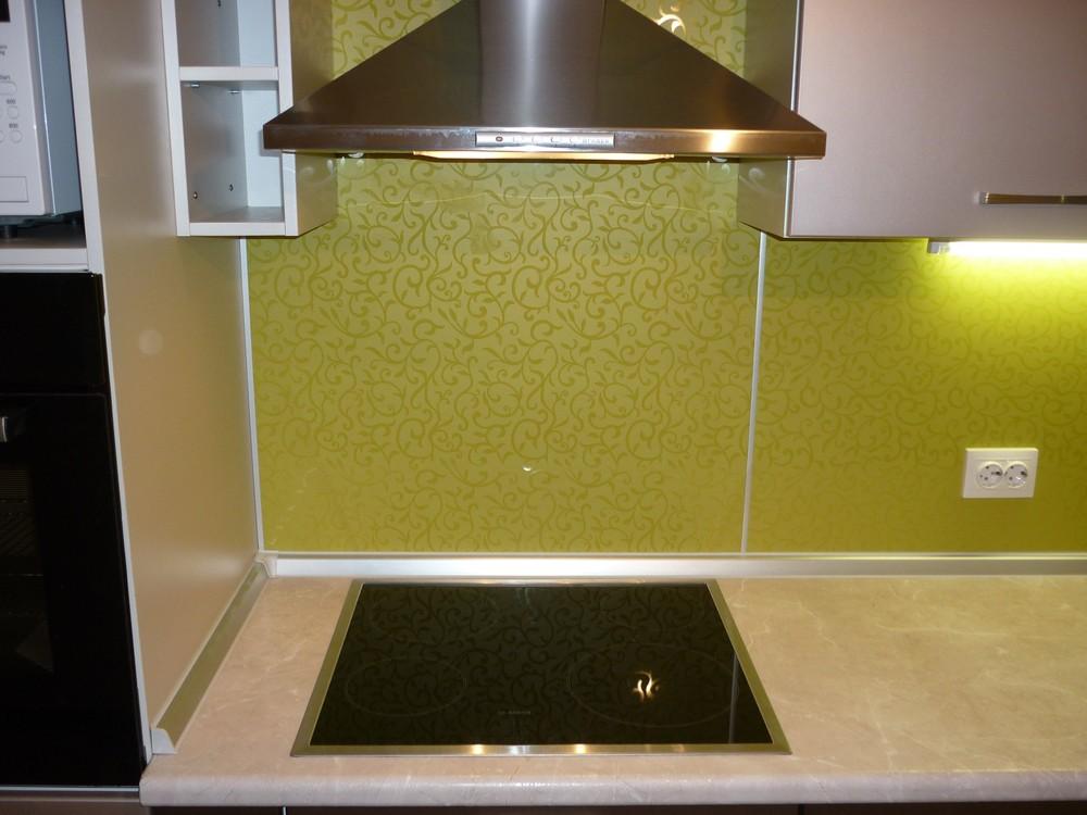 Встроенная кухня-Кухня МДФ в ПВХ «Модель 263»-фото3
