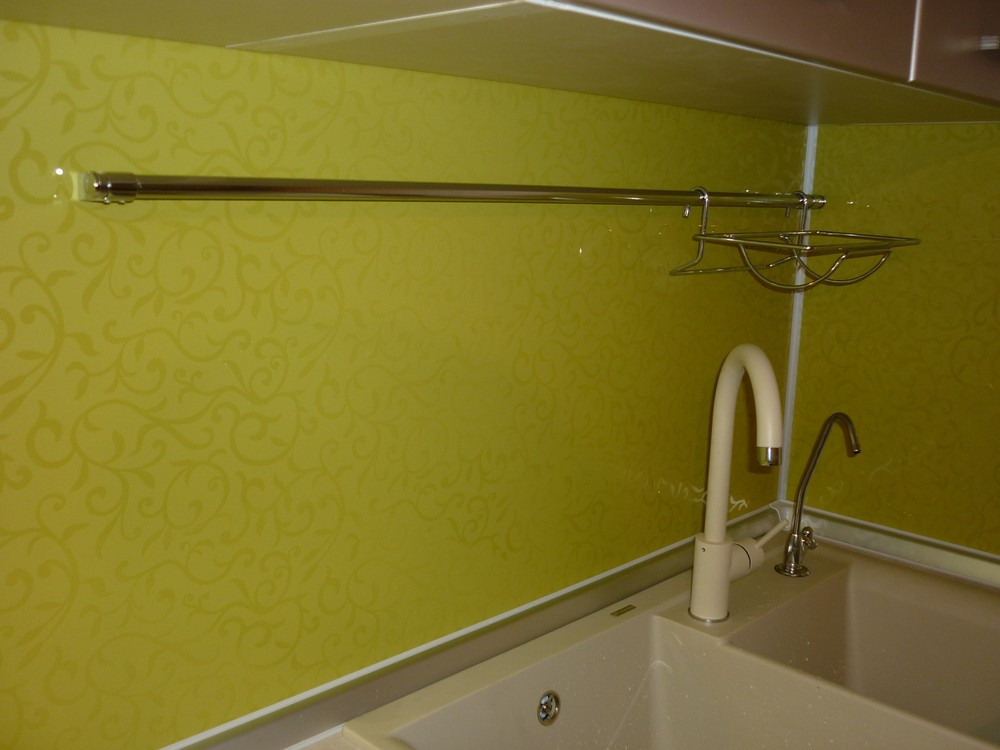 Встроенная кухня-Кухня МДФ в ПВХ «Модель 263»-фото4