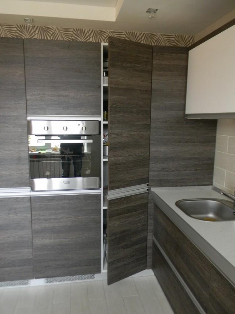 Акриловые кухни-Кухня из пластика «Модель 236»-фото4