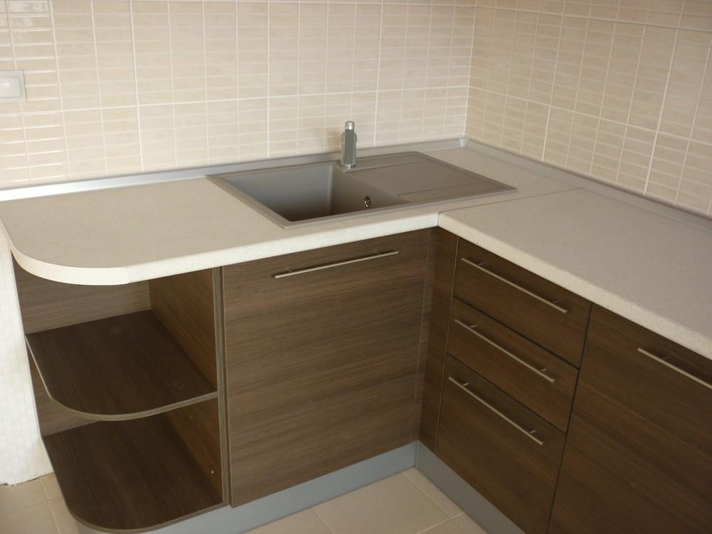 Встроенная кухня-Кухня МДФ в ПВХ «Модель 239»-фото3