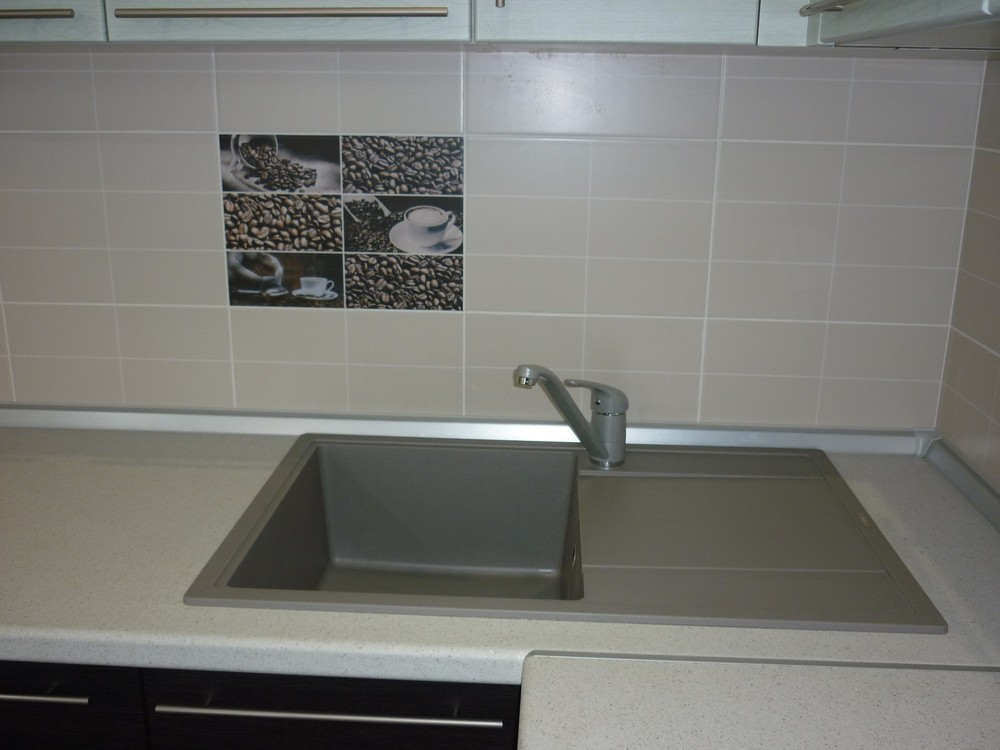 Кухни на заказ-Кухня МДФ в ПВХ «Модель 240»-фото3