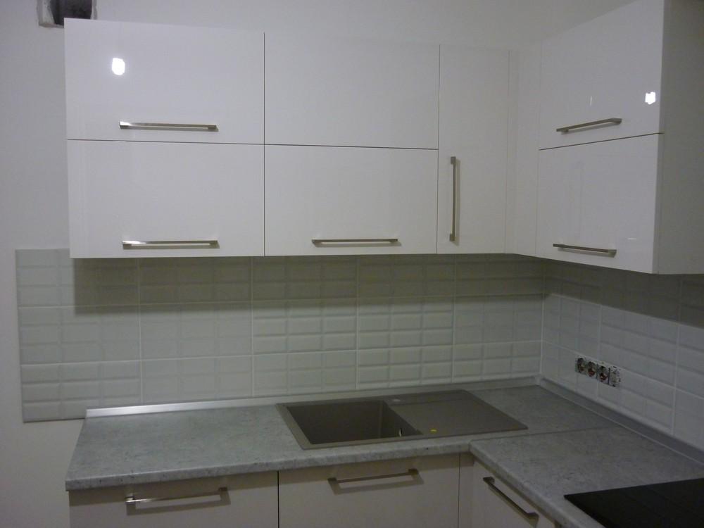 Встроенная кухня-Кухня МДФ в эмали «Модель 248»-фото5