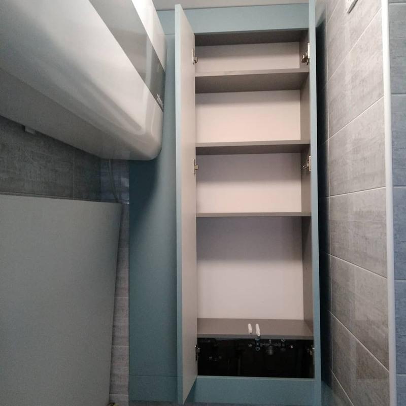 Мебель для ванной комнаты-Мебель для ванной «Модель 5»-фото2