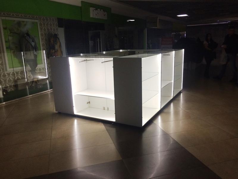 Торговая мебель-Торговый островок «Модель 244»-фото1