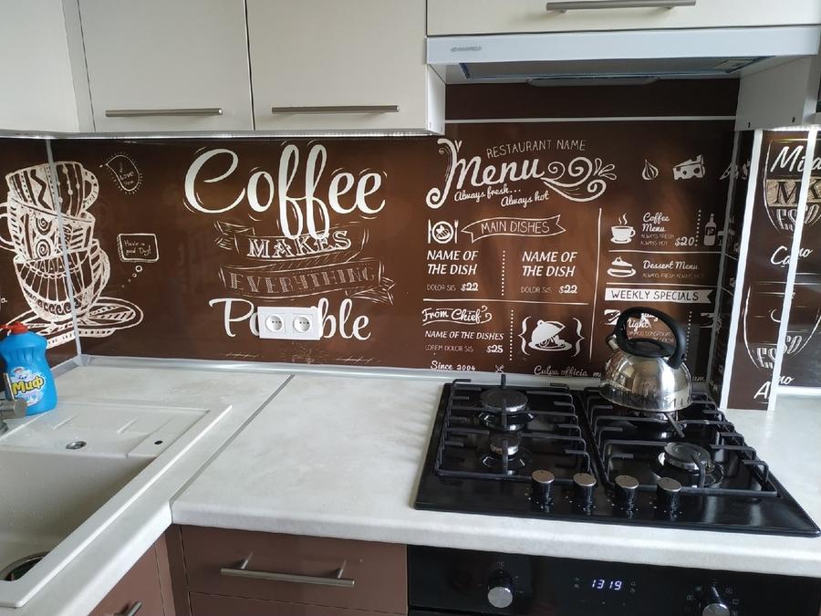 Белый кухонный гарнитур-Кухня из пластика «Модель 353»-фото6