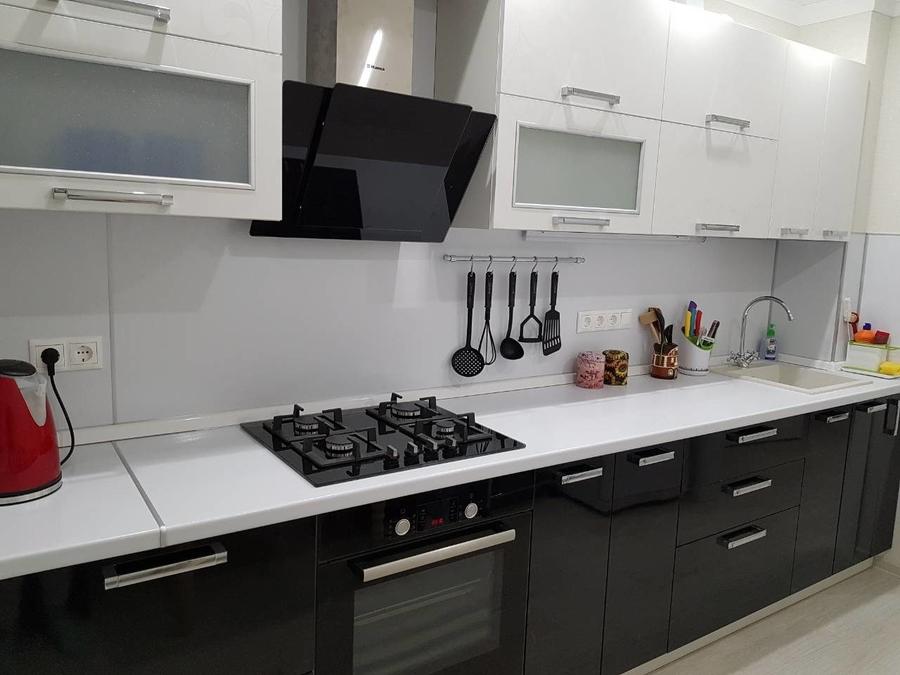 Белый кухонный гарнитур-Кухня «Модель 478»-фото2