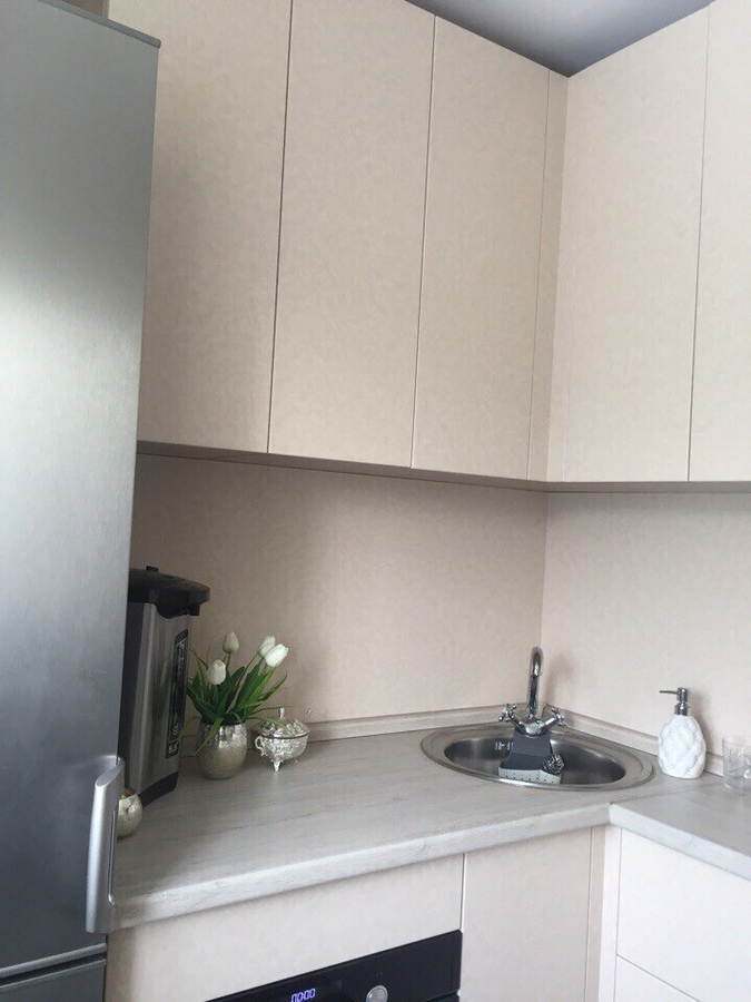 Белый кухонный гарнитур-Кухня из ЛДСП «Модель 390»-фото2