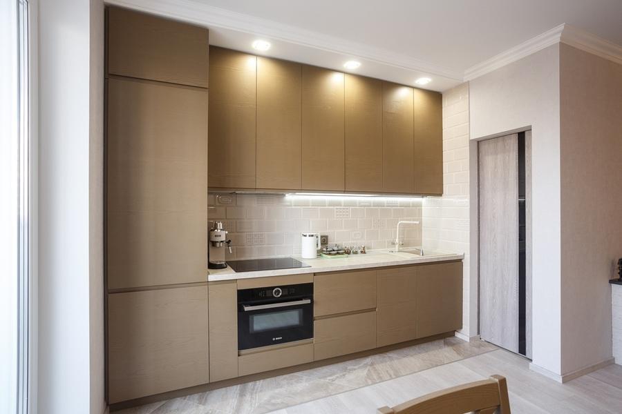 Встроенная кухня-Кухня из ЛДСП «Модель 425»-фото4