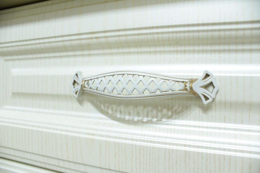 Белый кухонный гарнитур-Кухня МДФ в ПВХ «Модель 495»-фото7