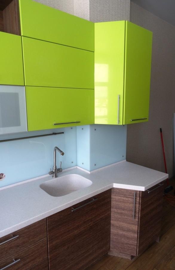 Встроенная кухня-Кухня МДФ в ПВХ «Модель 512»-фото6