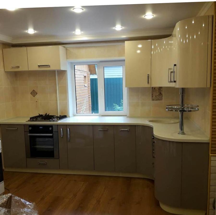 Белый кухонный гарнитур-Кухня «Модель 481»-фото1
