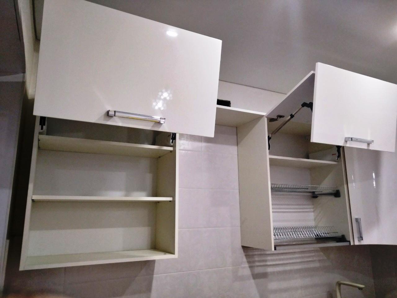 Белый кухонный гарнитур-Кухня МДФ в ПВХ «Модель 532»-фото7