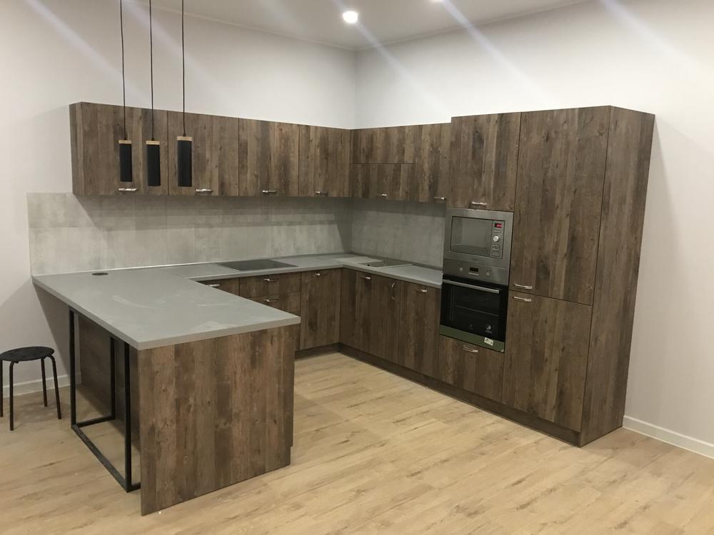 Купить кухню-Кухня из ЛДСП «Модель 552»-фото2