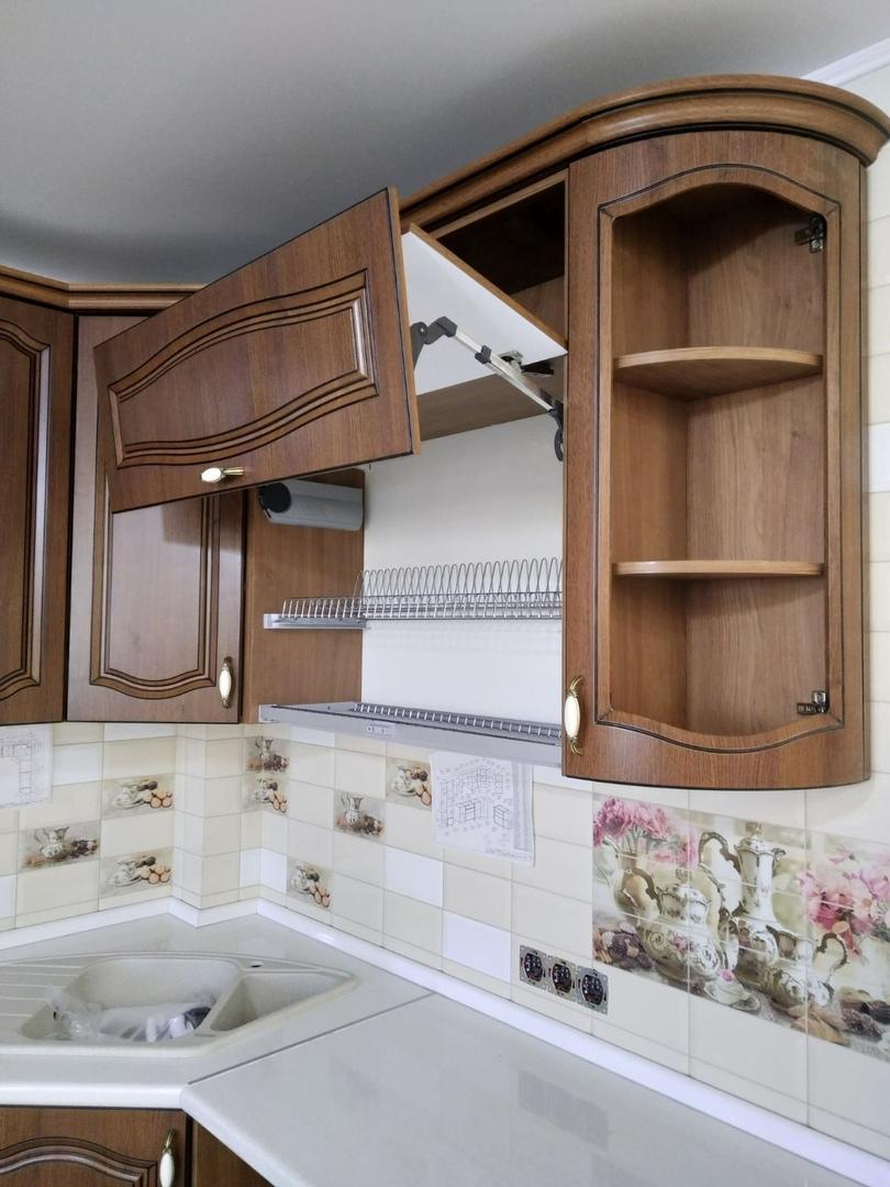 Классические кухни-Кухня МДФ в ПВХ «Модель 527»-фото8