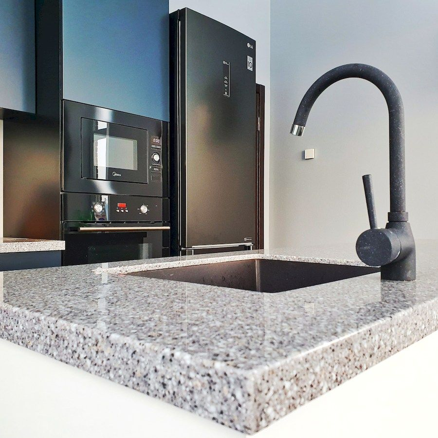 Дорогие и элитные кухни-Кухня МДФ в эмали «Модель 557»-фото4