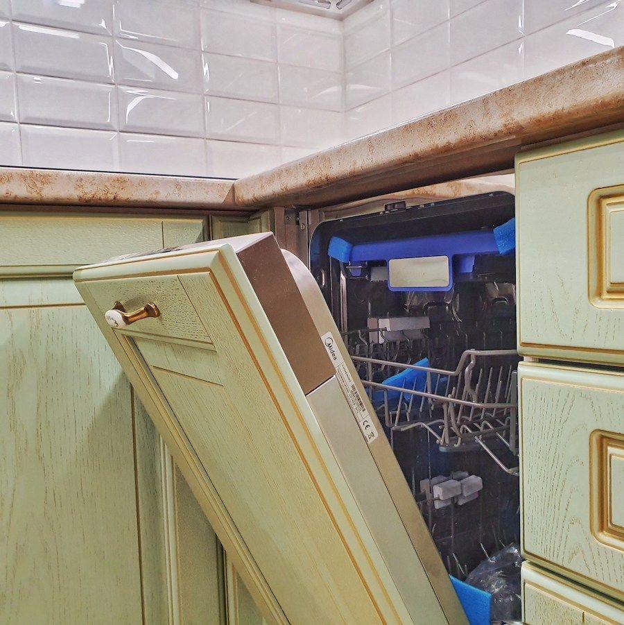 Классические кухни-Кухня из шпона «Модель 559»-фото7