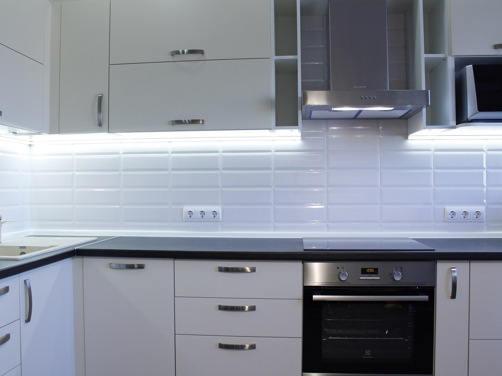 Акриловые кухни-Кухня из пластика «Модель 201»-фото5