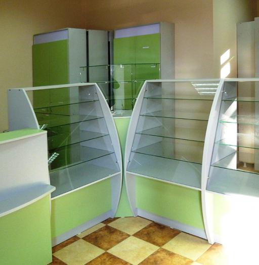 Торговая мебель-Мебель для аптеки «Модель 185»-фото4