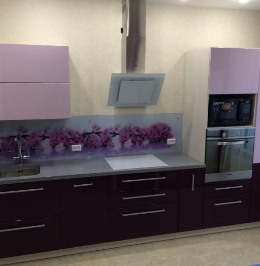 -Кухня из пластика «Модель 110»-фото1