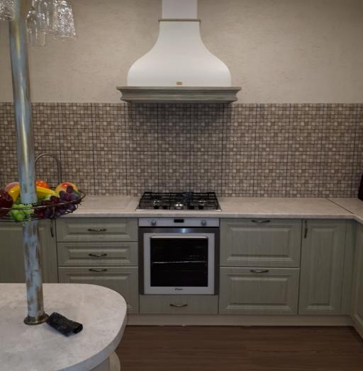 Белый кухонный гарнитур-Кухня «Модель 496»-фото3