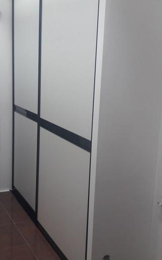 Белые шкафы-купе-Шкаф-купе из ЛДСП «Модель 339»-фото2