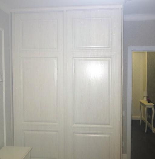Белые шкафы-купе-Шкаф-купе МДФ «Модель 466»-фото4