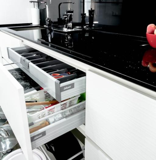 -Кухня из пластика «Модель 343»-фото12
