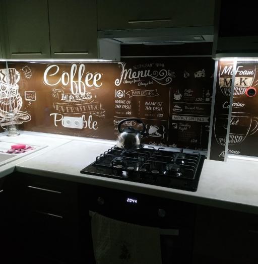 Белый кухонный гарнитур-Кухня из пластика «Модель 353»-фото7