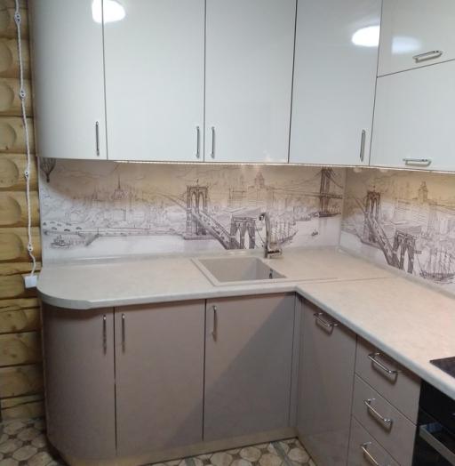 -Кухня МДФ в ПВХ «Модель 38»-фото14