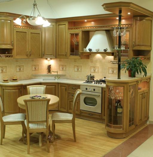 -Кухня из массива «Модель 127»-фото1
