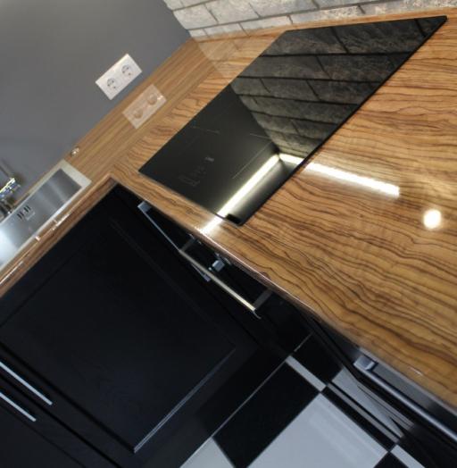 Встроенная кухня-Кухня МДФ в ПВХ «Модель 153»-фото10