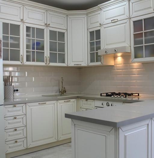 -Кухня МДФ в ПВХ «Модель 154»-фото3