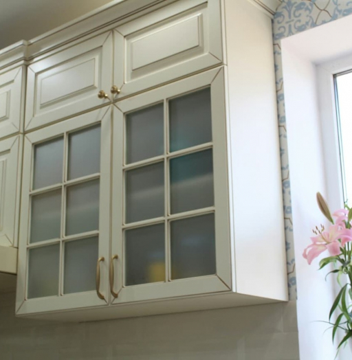 -Кухня МДФ в ПВХ «Модель 154»-фото2